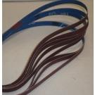 "R981 Coated Abrasive File Belts 1/2""x24""-80"