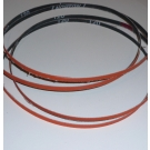 "R980 Coated Abrasive File Belts 1/4""x24""-80"