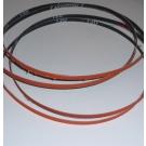 "R980 Coated Abrasive File Belts 1/4""x24""-120"