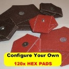 120x HEX PADS