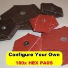 180x HEX PADS