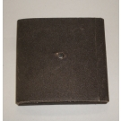 "1AX Abrasive Square Pad 1-1/2x1-1/2x3/8x1/4"" AH 60x"