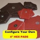 "4"" HEX PADS"