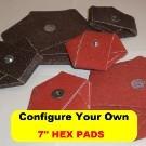 "7"" HEX PADS"