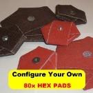 80x HEX PADS