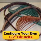 "Configure Your Own 1/2"" File Belts"