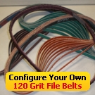 Configure Your Own 120 Grit File Belts