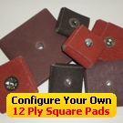 12 Ply Abrasive Square Pads