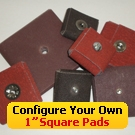 "Configure Your Own 1"" Square Pads"