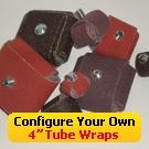 """Configure Your Own 4"""" Abrasive Tube Wraps"""