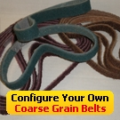 Configure Your Own Coarse File Belts