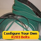 R203 Coated Abrasive File Belts