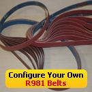 Configure Your Own R981 Coated Abrasive File Belts