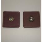 R228 Abrasive Square Pad 1-1/2x1-1/2x1/2x1/4-20 Eyelet 80x