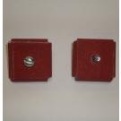 R926 Abrasive Square Pad 1-1/2x1-1/2x1/2x1/4-20 Bolt 60x