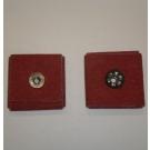 R926 Abrasive Square Pad 1-1/2x1-1/2x1/4x1/4-20 Eyelet 80x