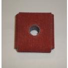"R926 Abrasive Square Pad 1-1/2x1-1/2x1/2x1/4"" AH 80x"