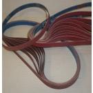 "R981 Coated Abrasive File Belts 1/4""x24""-80"