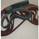 """Surface Conditioning File Belts 1/4""""x18""""-Medium"""